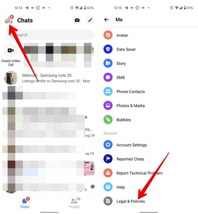 Facebook Messenger Legal