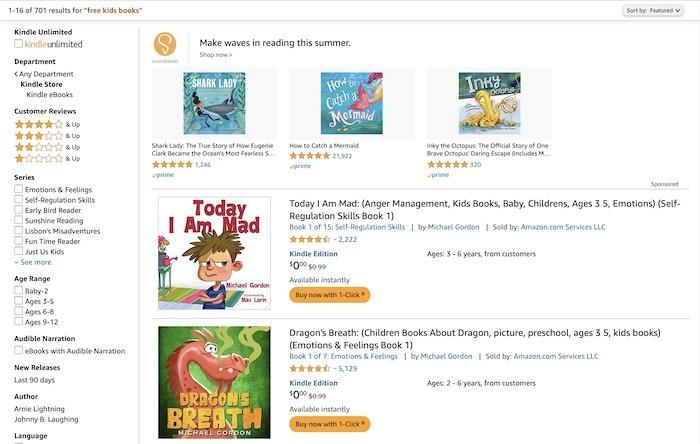 Kostenlose Websites E-Books herunterladen Amazon Kids