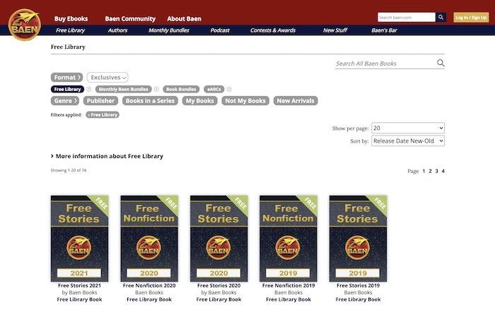 Kostenlose Websites E-Books herunterladen Baen