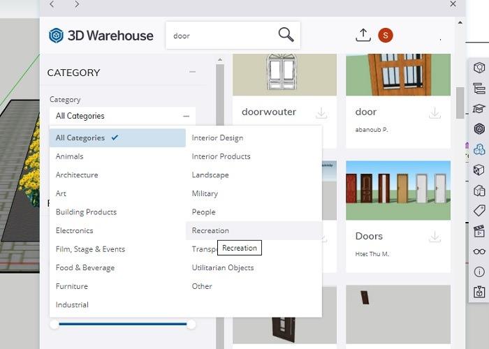 Sketchup 3D Warehouse