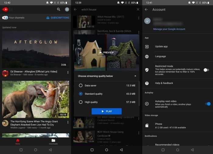 Beste Youtube Apps von Drittanbietern Mobile Youtube Go