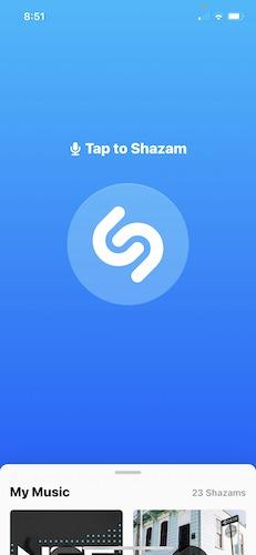 Was ist das für ein Lied, das Shazam fragt?