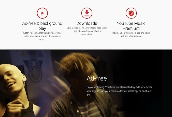 Youtube TV Premium-Funktionen
