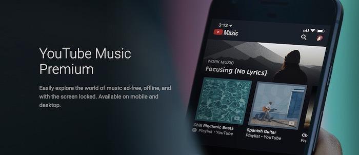 Youtube TV Premium Premium Musik