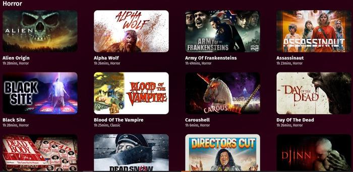 Horrorfilme kostenlos streamen Popcorn Flix