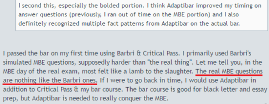 AdaptiBar is needed to really conquer the MBE