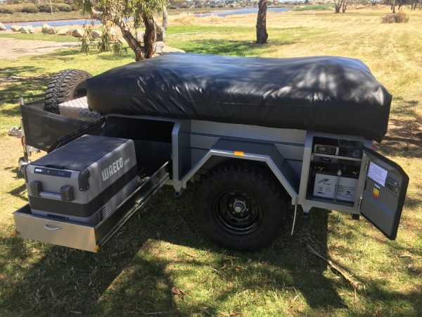 Johnno's Off Road Camper Trailer Access Make Trax