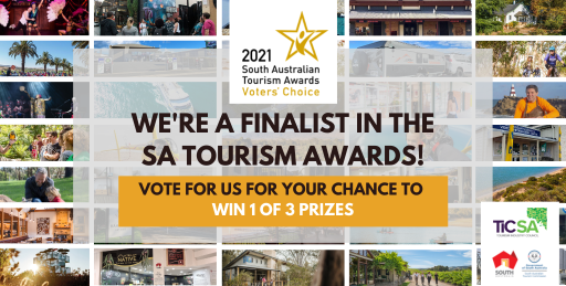 We are finalists in the 2021 SA Tourism Awards!