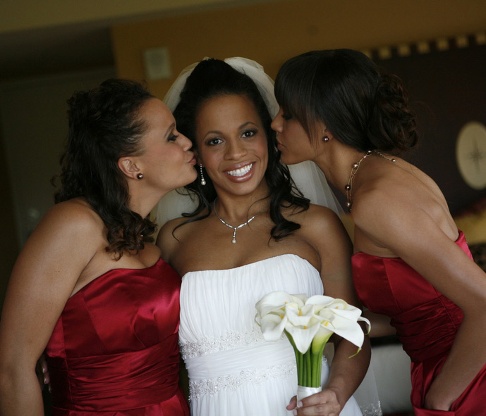 Kendra and Bridesmaids – Bridal Makeup - Makeup Artistry After Photo