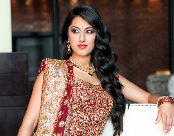 Nina – Indian Bridal Makeup - Makeup Artistry After Photo