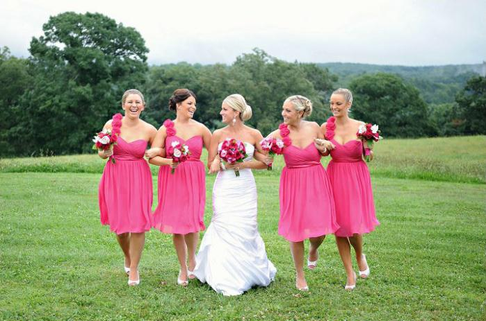 Raquel and Bridesmaids – Bridal Hair and Makeup - Makeup Artistry After Photo