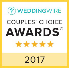 WeddingWire 2017 Couples' Choice Award