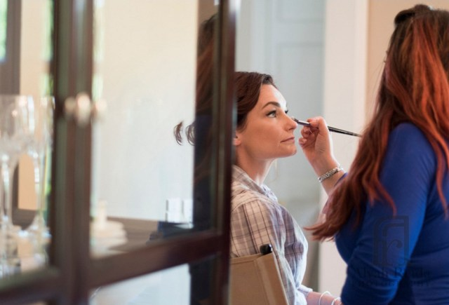 Bridal makeup for Beth's elegant Omni Hotel wedding in Providence, RI