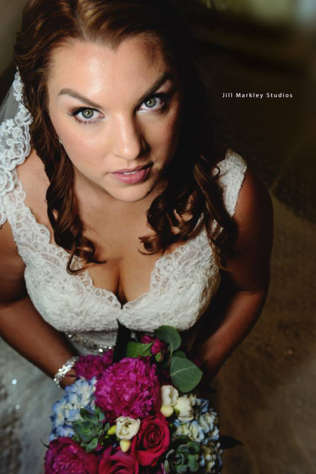 Natural wedding makeup for Andrea's Publick House wedding