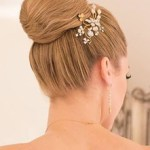 Classic Bun Bridal Hair Design Updo by Christy & Co.