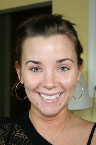 Christina - Makeup Artistry Before Photo