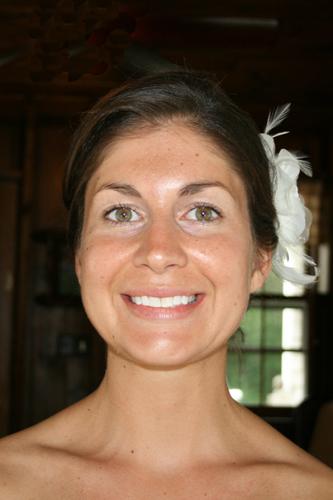 Stephanie - Makeup Artistry Before Photo