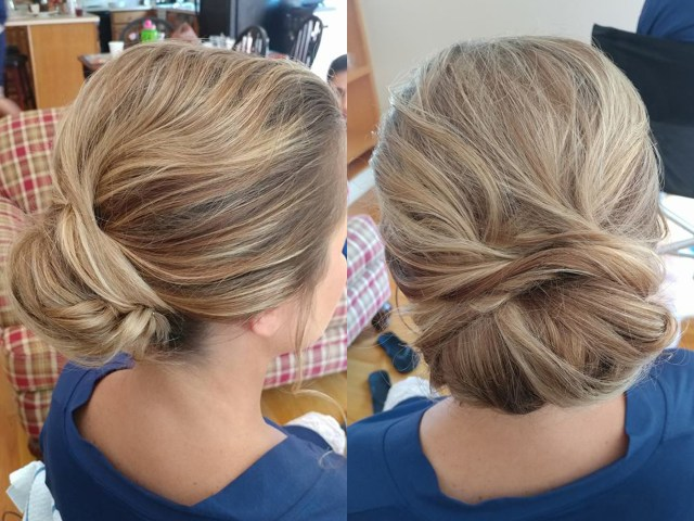 Bridal hair design by Andreina