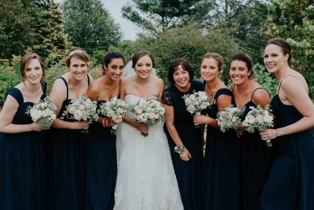 Bridal hair design by Andreina for Tower Hill wedding