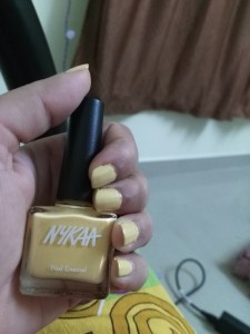 Nykaa Pastel Nail Polish in Shade 48 Lemon Pudding