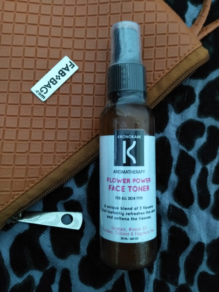Kronkare Flower Power – Face Toner in Fab Bag March 2017