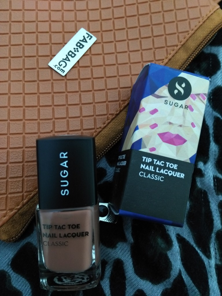 SUGAR Tip Tac Toe Nail Lacquer – 006 Cookie Cutter in Fab Bag March 2017
