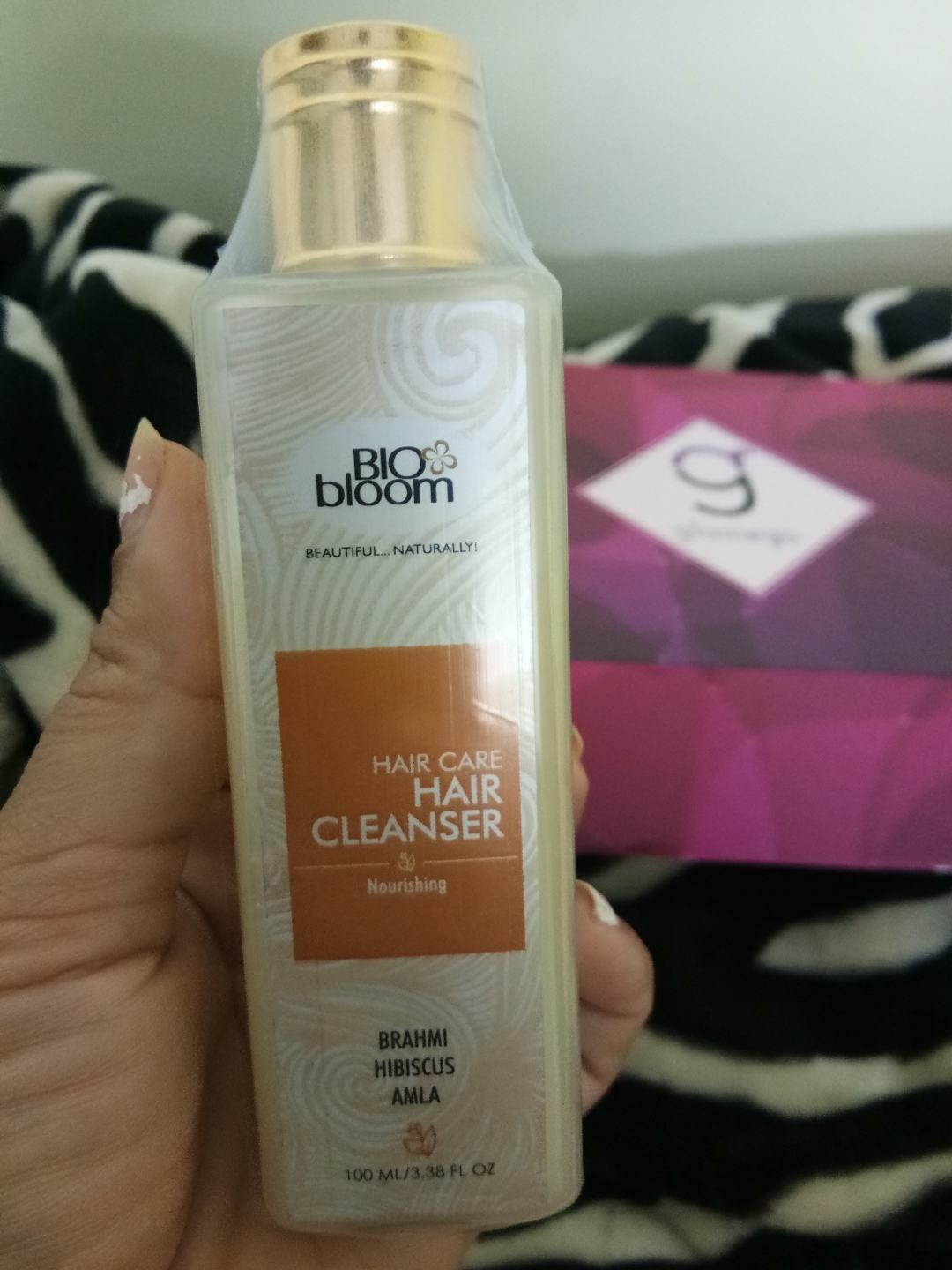 Biobloom - Brahmin & Amla Hair Cleanser in GlamEgo August 2017 Box