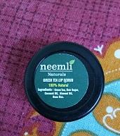 Neemli Green Tea Lip Scrub