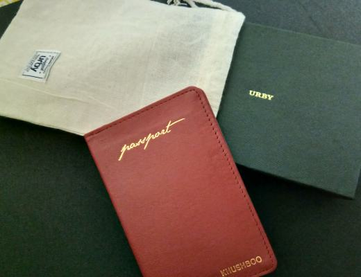 Urby Wanderlust Leather Passport Holder