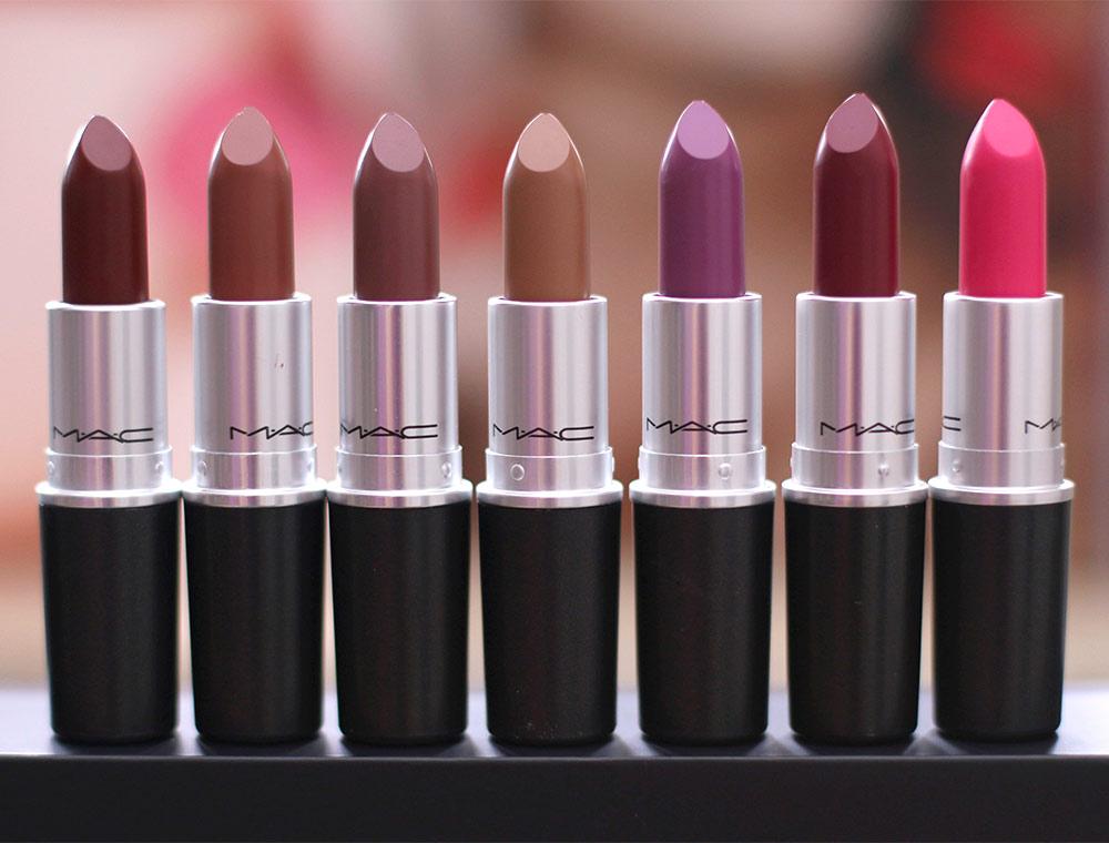 Bildergebnis für mac lipsticks