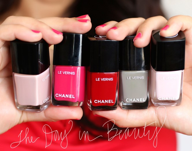 Chanel Peche Nacree Nail Polish