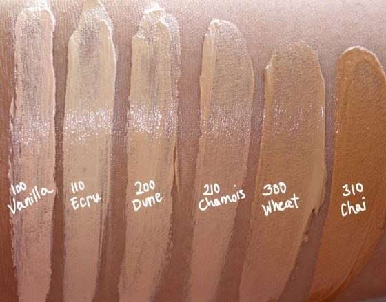estee edit skin glowing balm swatches 1