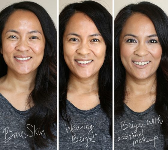 hourglass vanish foundation before-after