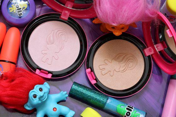 mac good luck trolls beauty powders