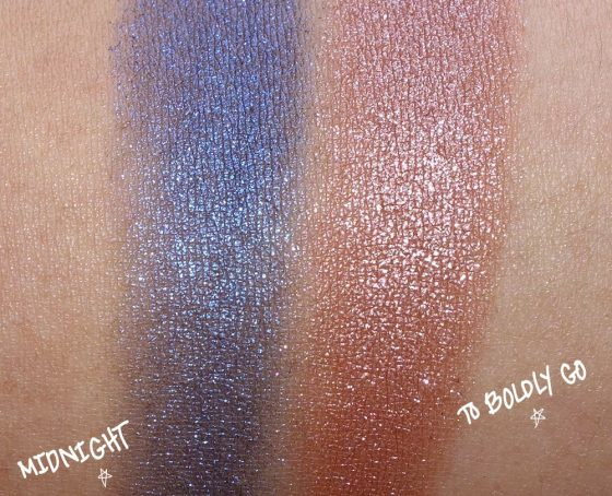mac star trek midnight boldly go swatch