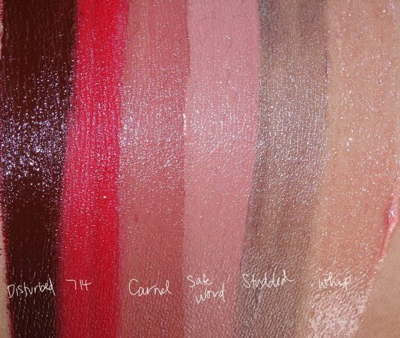 urban decay vice lipstick palette junkie swatches