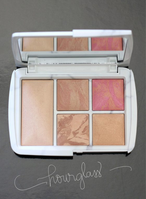 hourglass surreal light palette