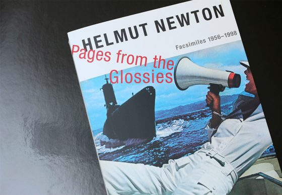 helmut newton pages from the glossies