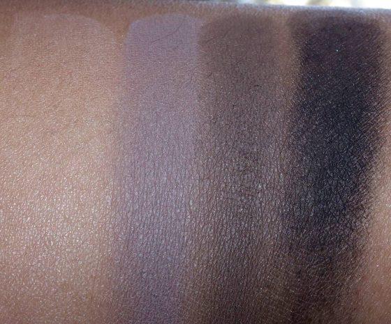 mac limited edition photographs helmut newton eye shadow x 4 swatches