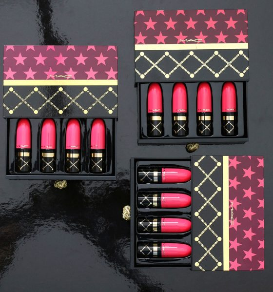 mac nutcracker sweet lipstick kits