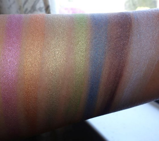 urban decay full spectrum palette swatches