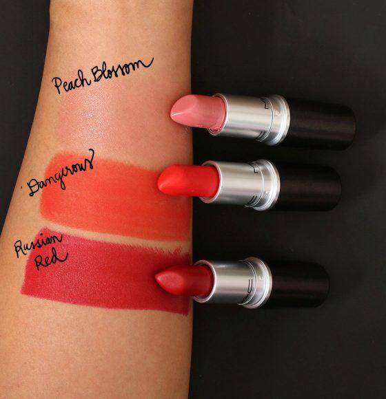mac chinese new year lipsticks