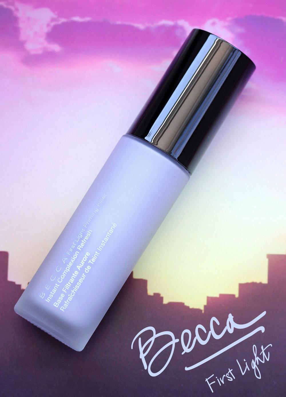 BECCA First Light Filter Face Primer Review Makeup And