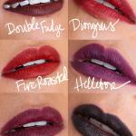 Swatches Of The Mac Liptensity Lip Pencils Available Now In The Mac Permanent Line Makeup And Beauty Blog