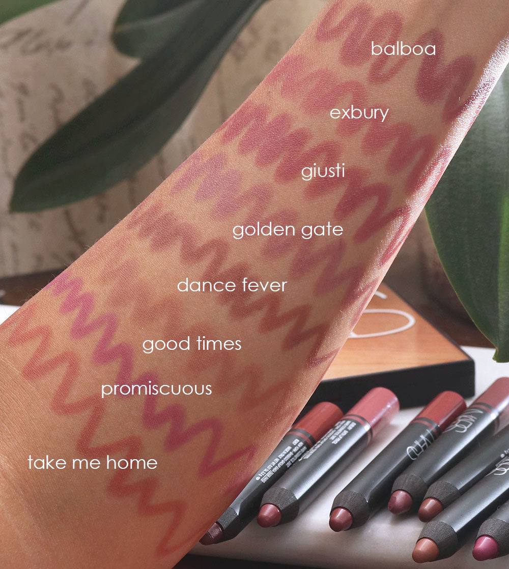 nars summer 2019 swatches