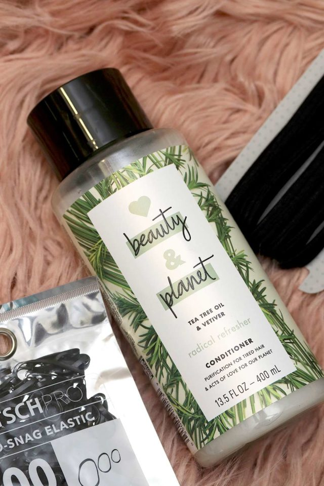beauty planet tea tree oil vetiver conditioner