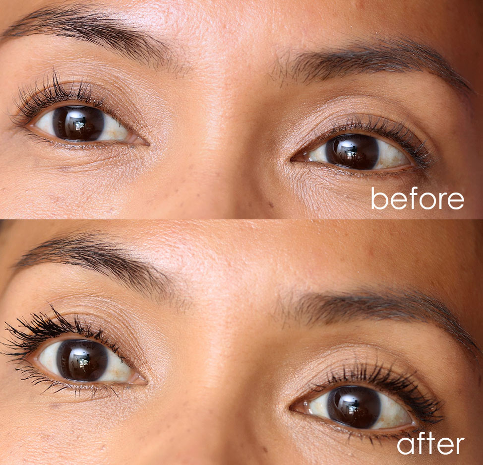 urban decay lash freak mascara before after