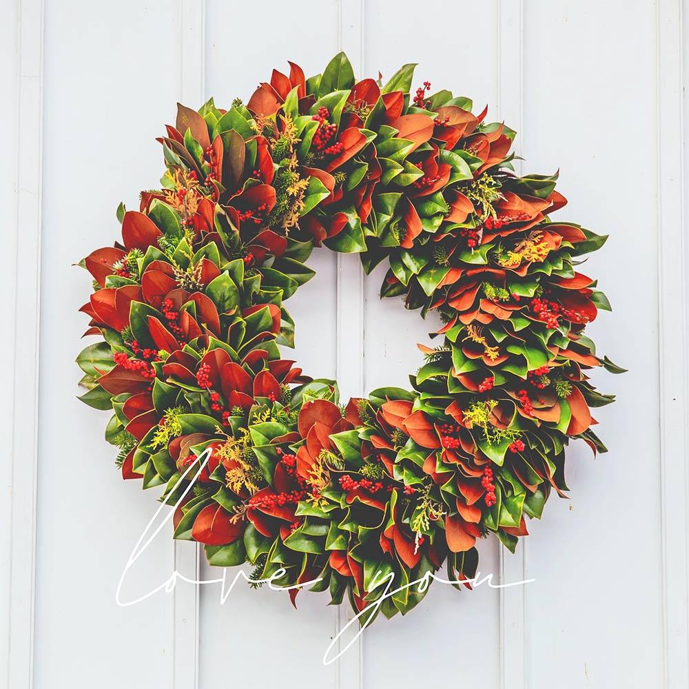love you wreath monday poll