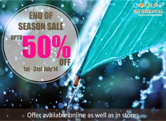 The Nature's Co.: July EOSS Upto 50% off