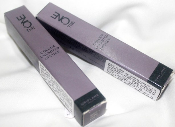 Oriflame The ONE Colour Unlimited Lipstick – (Shade – Fuchsia Excess, Pink Unlimited, Absolute Blush): Review, Swatch, LOTD